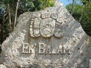 Glifo emblema de Ek Balam